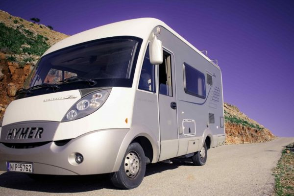 hymer-campervan-front-side-view